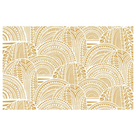 Marimekko Upholstery Fabric Sale by Marimekko Vuorilaakso Gold Sateen Fabric Marimekko