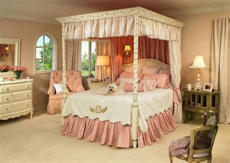 Girls Canopy Bedroom Set | girls bedroom sets bedroom furniture high resolution