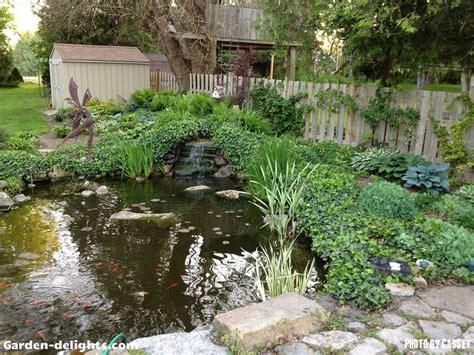 Large Backyard Pond by Building A Backyard Pond Design Size Pond Building Garden