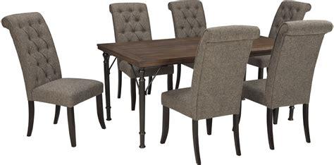 tripton rectangular dining room table d530 25 tables tripton rectangular dining room set from ashley d530 25