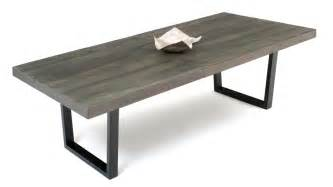 Grey Wood Dining Room Table Dining Table Made With Reclaimed Wood In Gray Wash Finish Woodland Creek Furniture