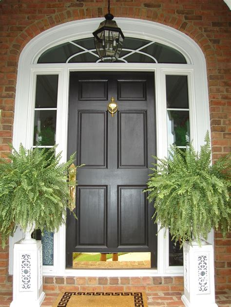Front Entry Door With Sidelites Fiberglass Front Entry Replacement Door Sidelites Transom Alpharetta Ga Our Work