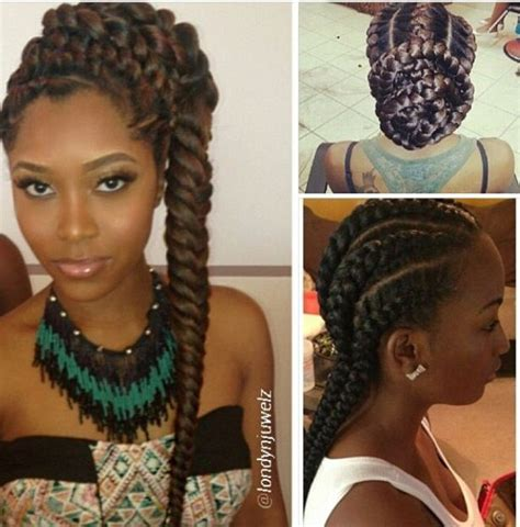 goddess braids natural hair styles for women of color