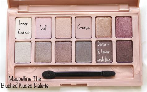 Maybelline The Blushed Palette of the day drugstore bridal look collective