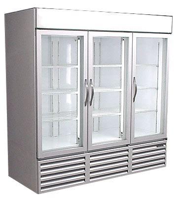 Used 3 Door Cooler Used Cooler Used Glass Door Cooler Used Glass Door Refrigerator