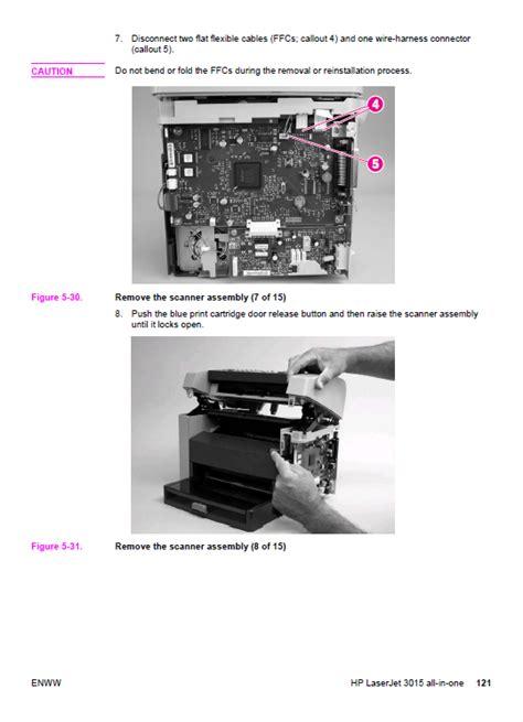 Hp Laserjet 3015 Service Manual