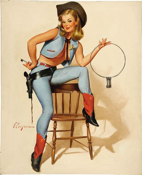 pin up home decor sexy cowgirls gun pop pin up vintage poster classic retro