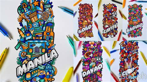 doodle contest philippines titus pens idoodle 15 the most talented doodlers in ph
