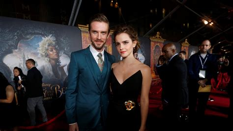 emma watson dan stevens beauty and the beast here s why emma watson was scared of
