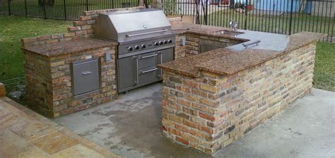 bbq outdoor kitchen islands bbq islands contractor denver custom outdoor kitchen masonry