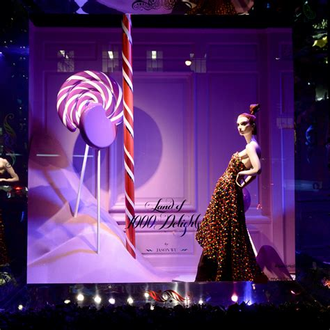 saks fifth avenue light show saks fifth avenue unveils holiday windows with a light show