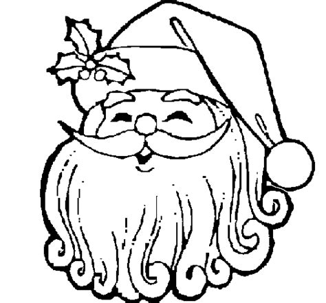 santa mask coloring page free coloring pages of mask of santa claus