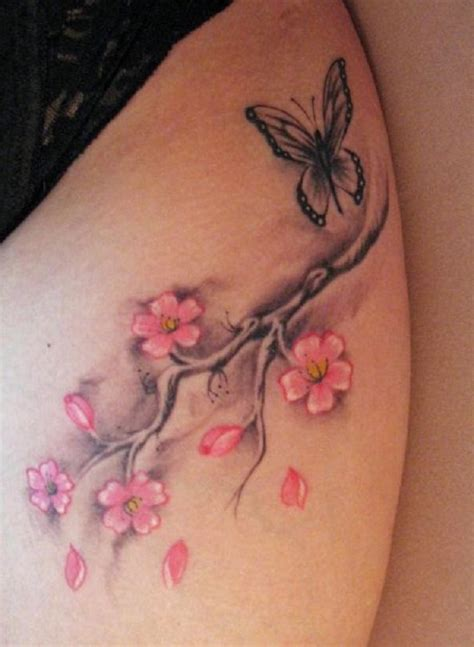 small cherry blossom tattoo 55 cherry blossom tattoos ideas