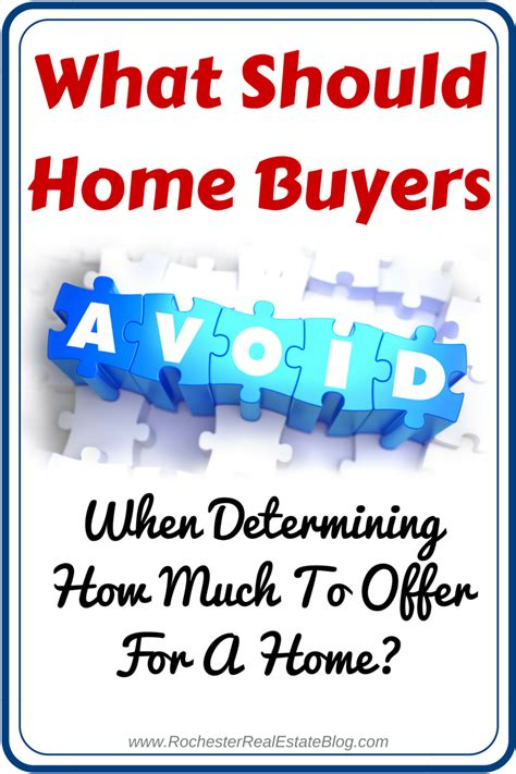 tips to help determine how much to offer for a home