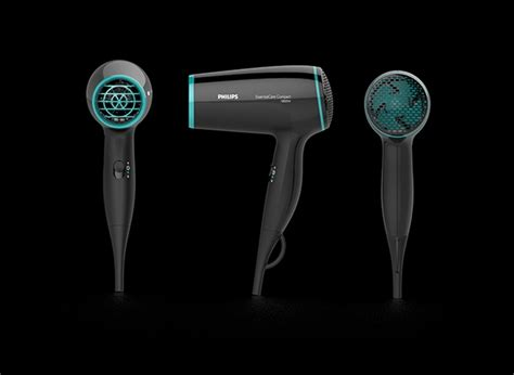 Compact Hair Dryer With Cool compact hairdryer on behance