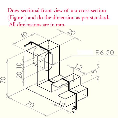 sectional view drawing i will choose the best answer and rate it straight