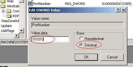 3389 remote desktop change windows rdp it diy