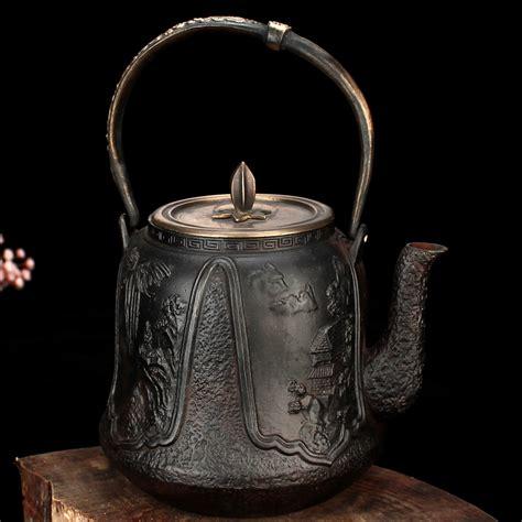 Handmade Iron - south of japan handmade no coated top grade cast iron pot