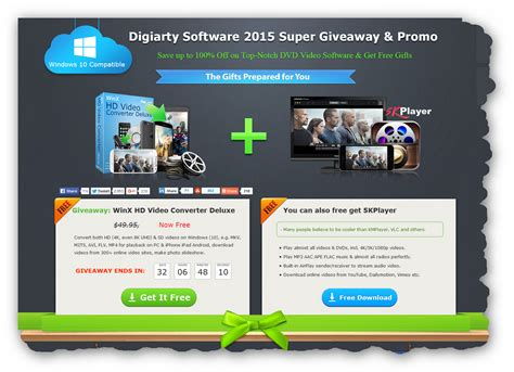 Video Converter Giveaway - freebie winx hd video converter deluxe license key