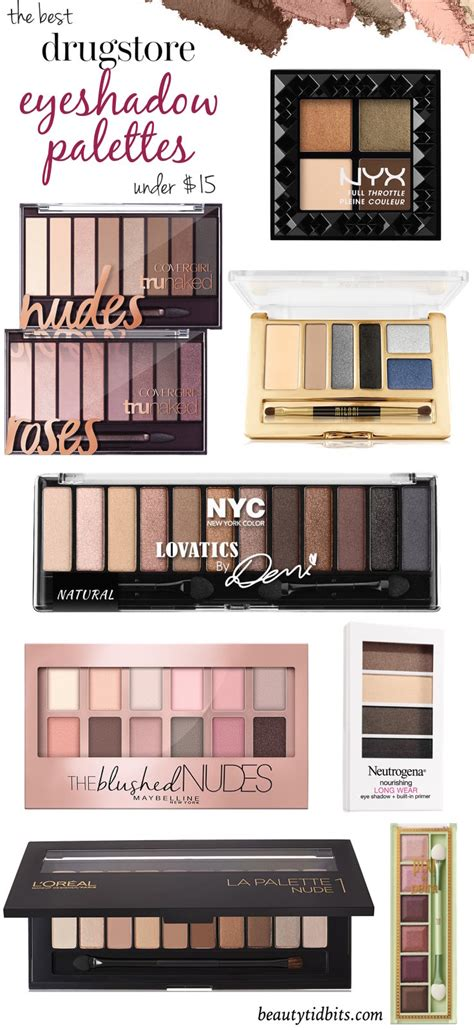 8 Prettiest Eyeshadows by The Best Drugstore Eyeshadow Palettes 15