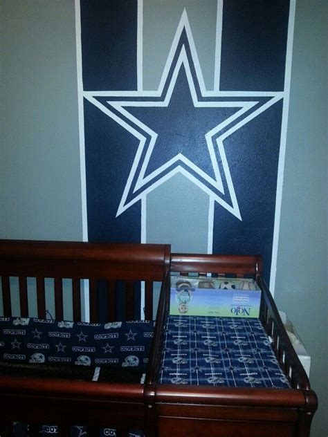 dallas cowboys bedroom decor 64 best dallas cowboys nursery theme images on pinterest