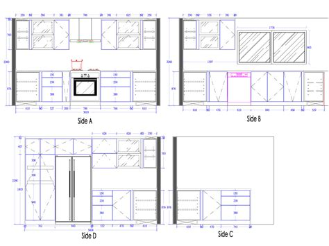small kitchen cabinets  drawing home decor