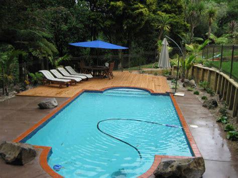 Landscape Timbers Around Pool Auckland Landscaper Kensington Landscaping