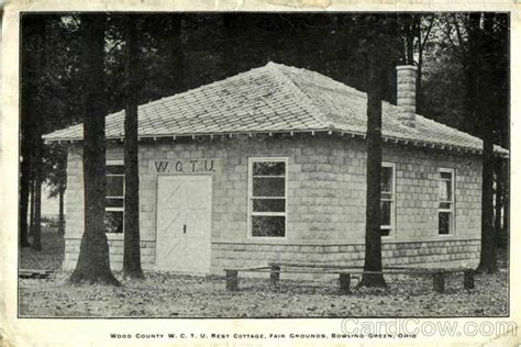 Post Office Bowling Green Ohio by Wood County W C T U Rest Cottage Bowling Green Oh