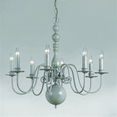 Grey Chandelier Lighting Impex Lighting Bologna 8 Light Chandelier Fitting In A