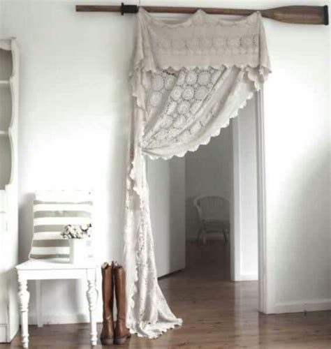 closet curtain rod doorway curtain instead of closet door curtains