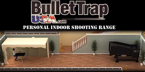 personal indoor gun range from bullet trap usa the