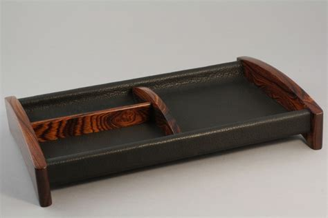Leather Dresser Valet by Valet Tray Available Woods Folding Leather Dresser