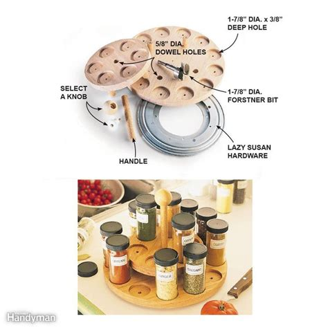 17 best ideas about lazy susan spice rack on