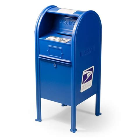 All In One Gift Card Post Office - mini 6 5 quot blue replica usps post office mail drop box bank officially licensed ebay