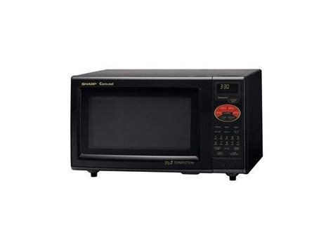 Sharp Countertop Microwave Ovens by Sharp Countertop Convection Microwave Oven 900w Black
