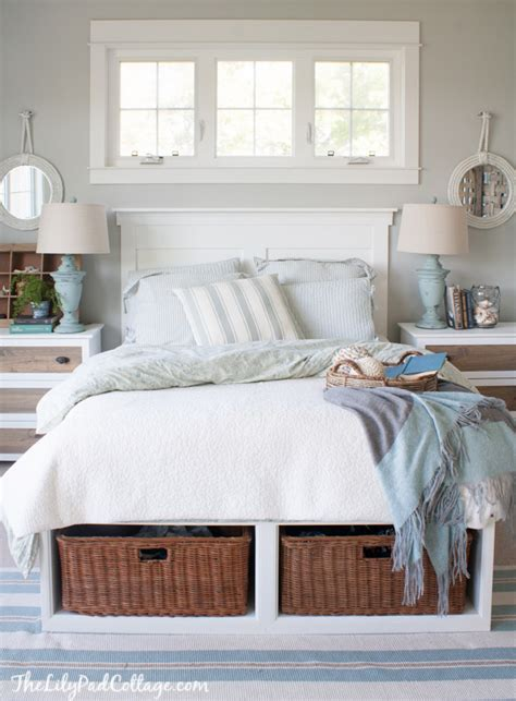 diy faux headboard house tour the lilypad cottage