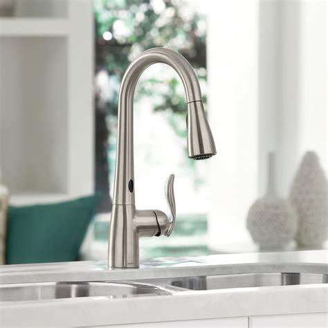 moen arbor motionsense touchless faucet  images