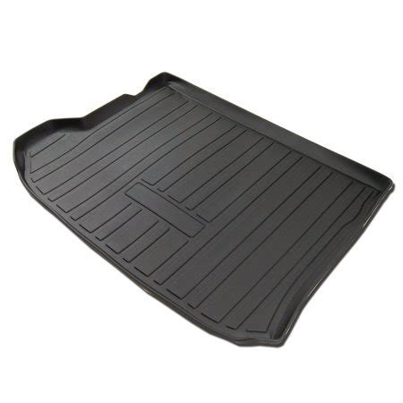 cargo mat for a 2017 buick envision tuningpros cltm 831 custom fit black trunk floor mat for