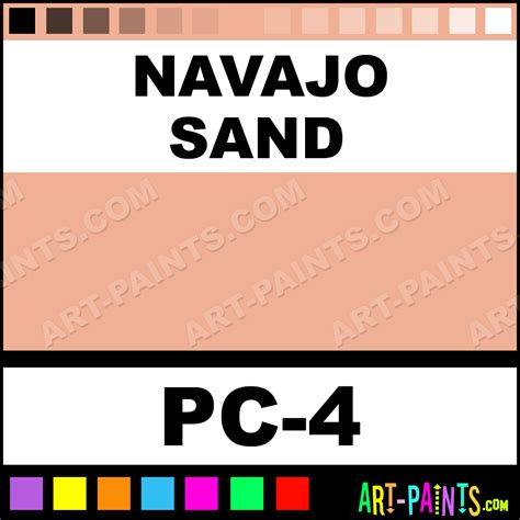 navajo colors navajo sand color cake paints pc 4 navajo