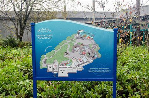 oregon coast aquarium map oregon