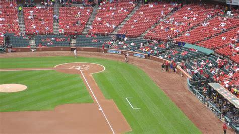busch stadium green seats busch stadium cardinals club 5 rateyourseats