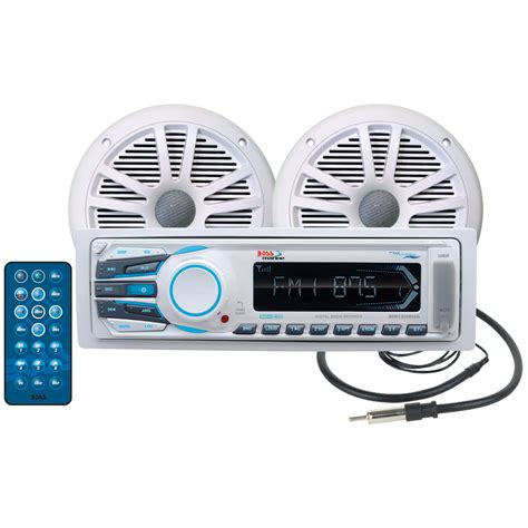 boat stereo 2017 s best deal on boss audio mck1306w 6 marine stereo
