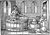 archimedes bathtub story fact or fiction archimedes coined the term quot eureka quot in