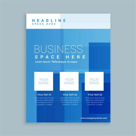 business marketing flyer brochure template download free