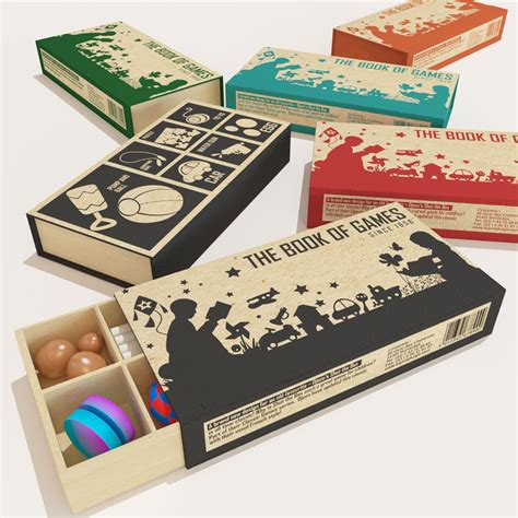 design game box elegant playful packaging design for p karachalios