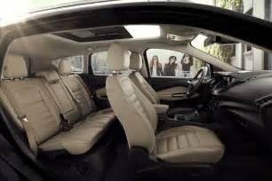 Ford Fusion Leather Interior 2017 Ford 174 Escape Suv Photos Videos Colors Amp 360