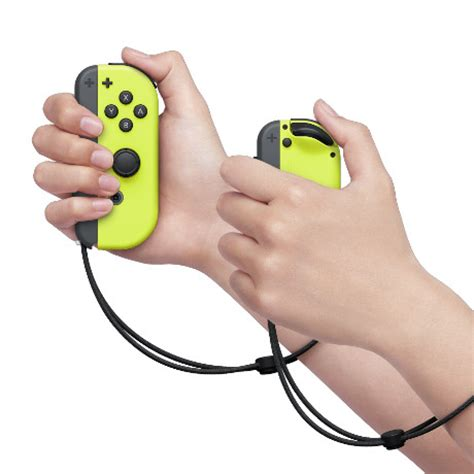 Nintendo Switch Con L R Yellow And Arms Murah nintendo switch neon yellow con controller set l r nintendo official uk store