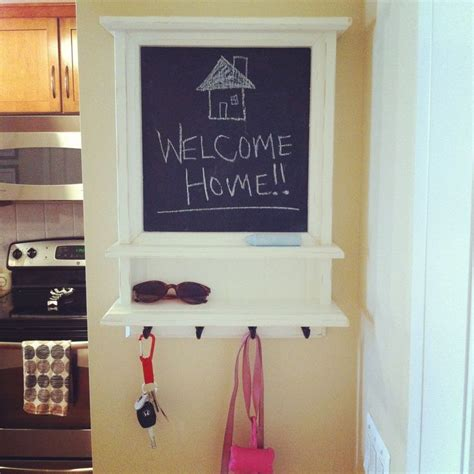 diy chalkboard key holder chalkboard key holder from etsy house