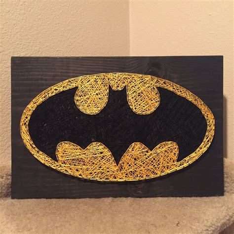 Batman String - made to order batman string sign by