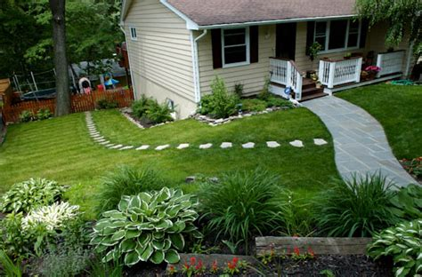 diy backyard landscaping on a budget cool front yard landscaping ideas for home front yard